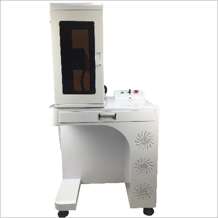 Fiber Laser Marking Machine With Safety Cover