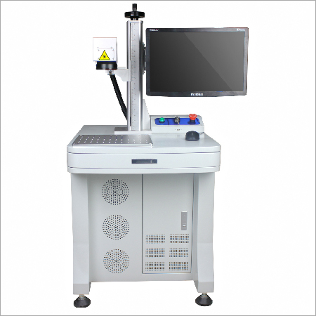 Fiber Laser Marking Machine With Worktable