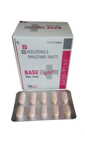 Aceclofenac Paracetamol Tablets Age Group: Adult