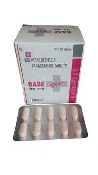 Aceclofenac Paracetamol Tablets