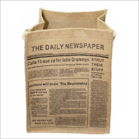 Jute Newspaper Bags