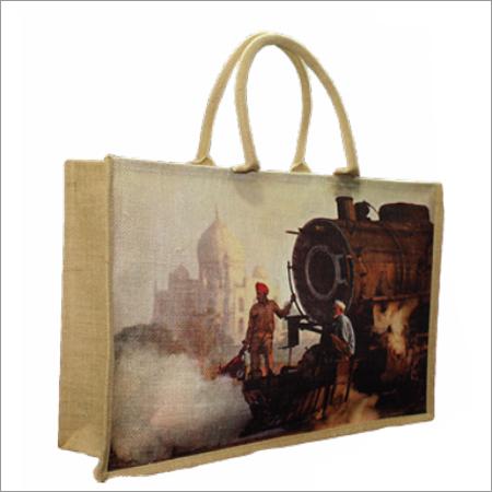 Jute Digital Print Fancy Bags