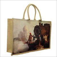 Jute Digital Print Fancy Bags