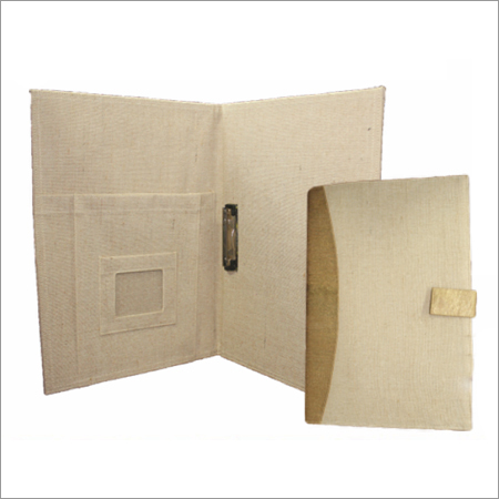 Eco Friendly Jute File Holder