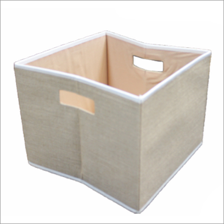 Jute Storage Bins Basket