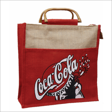 Jute Coca Cola Promotional Bags