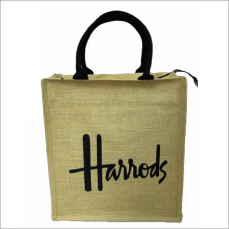 Jute Printed Handbags