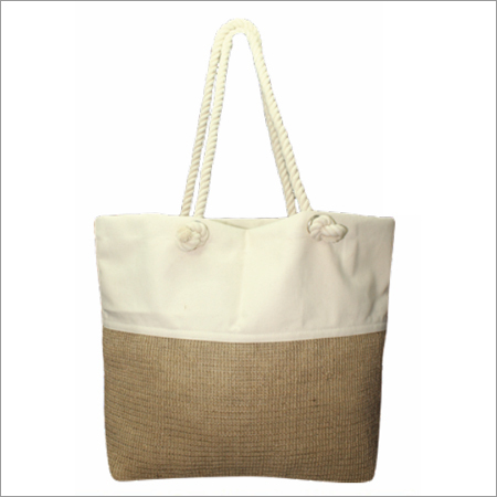 Ladies Jute Beach Bags