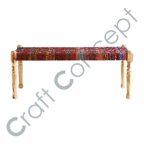Rajasthani Village Style Bench