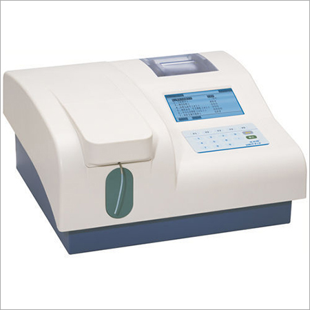 Semi Automated Bio Chemistry Analyzer
