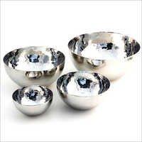Round Steel Bowl