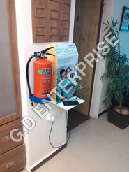 Acrylic Wall mounted Mobile charging Station