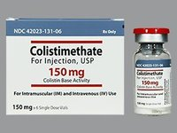 Colistimethate Sodium Injection