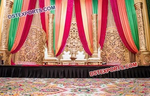 Royal Indian Wedding Stage Decoration