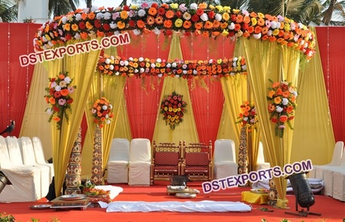 Beautiful Mandap Decoration with Flower