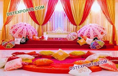 Arabian Wedding Mehandi Stage