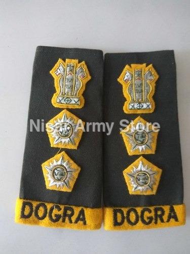 Army Shoulder Ranks