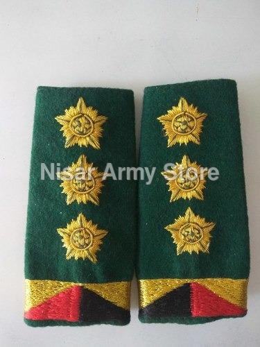 Military Shoulder Ranks