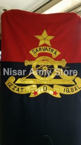 Quarter Guard Flag (Woolen Cloth Zari )