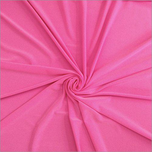 Polyester Plain Lycra Fabric