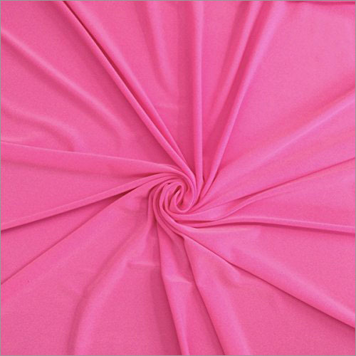 Polyester Plain Lycra Fabric