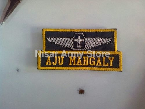 Army Name Plate
