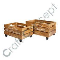 3 STRIPS SET OF 2 WOODEN BOX