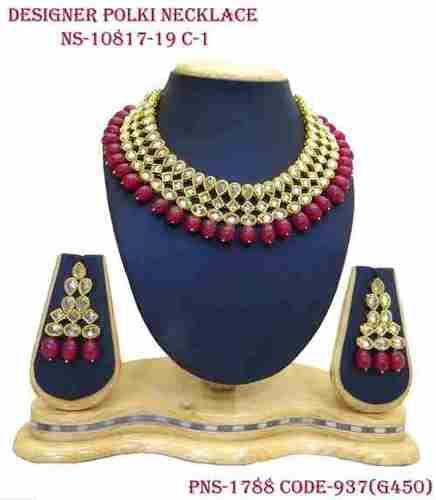 Designer Polki Necklace
