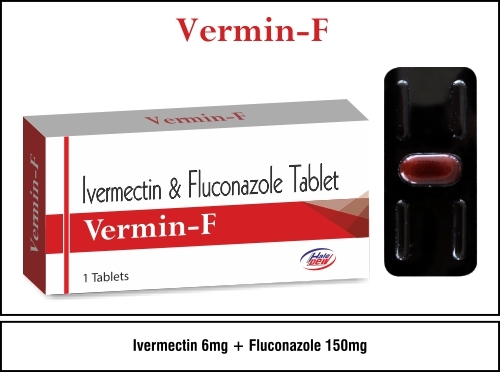 Ivermectin 6 mg.+Fluconazole 150 mg.