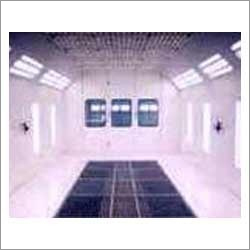 Down Draft Type Spray Painting Booth