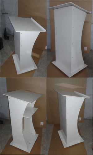 White Acrylic Church Podium