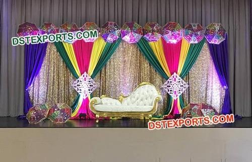 Colorful Wedding Decoration Backdrop