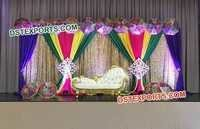 Colorful Wedding Decoration Backdrop