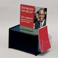 Black Acrylic Suggestion Box
