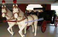 Stylish Wedding Horse Buggy