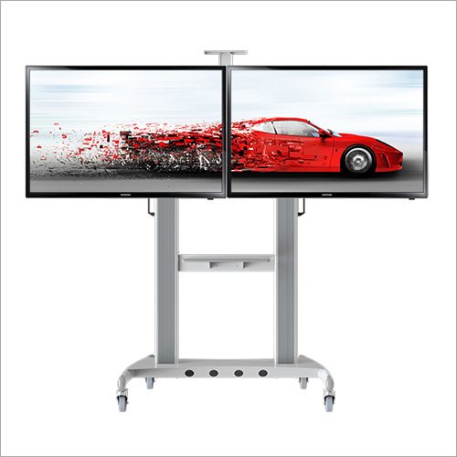 Dual Screen Twin TV Stand