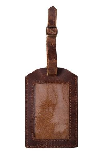 Leather card & key holder