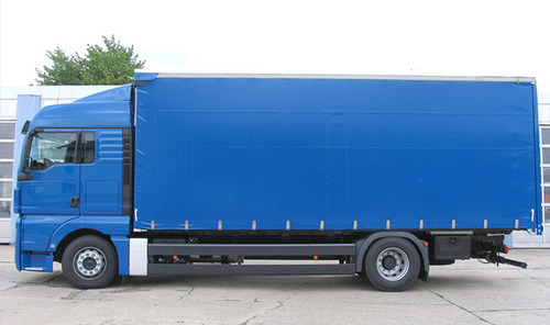 Tarpaulin cover for trucks