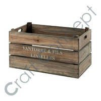 Dark Color Wooden Box
