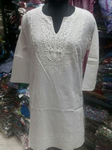 White Ladies Kurti