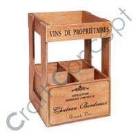 4 Small Block Wooden Box