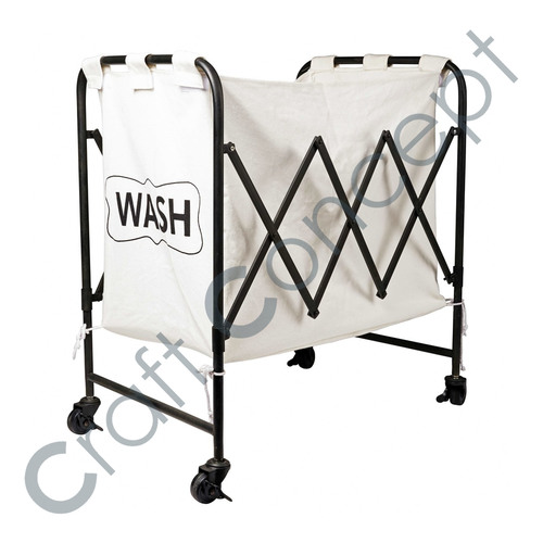 Wash Printed On Canvas Bin