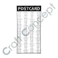 Iron Postcard Stand