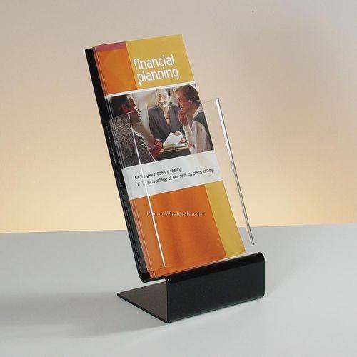 Acrylic Single Pocket  Brochure Stand