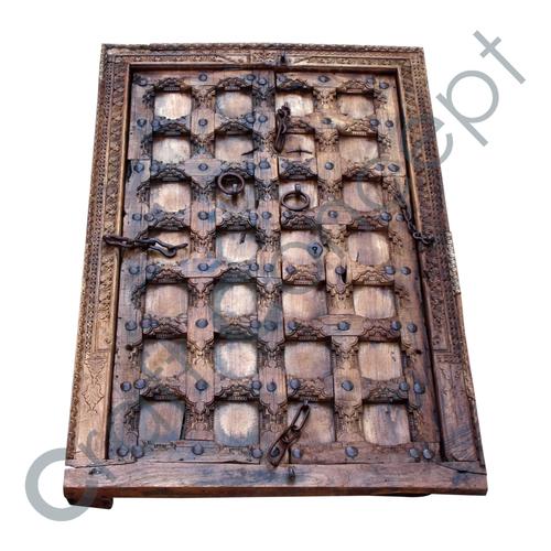 Fort Wooden Door