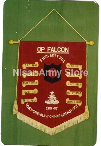 Embroidery Wall Banner