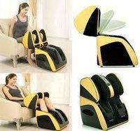 Adjustable leg massager