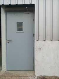 Fireproof Metal Doors