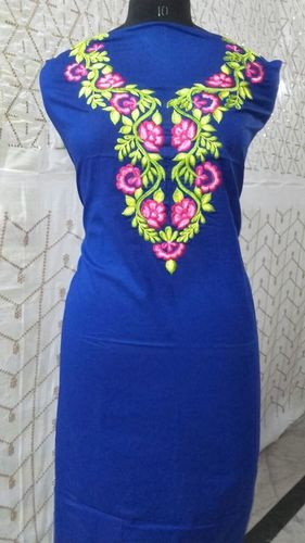 Royal Blue Kurta With Rich Color Embroidery
