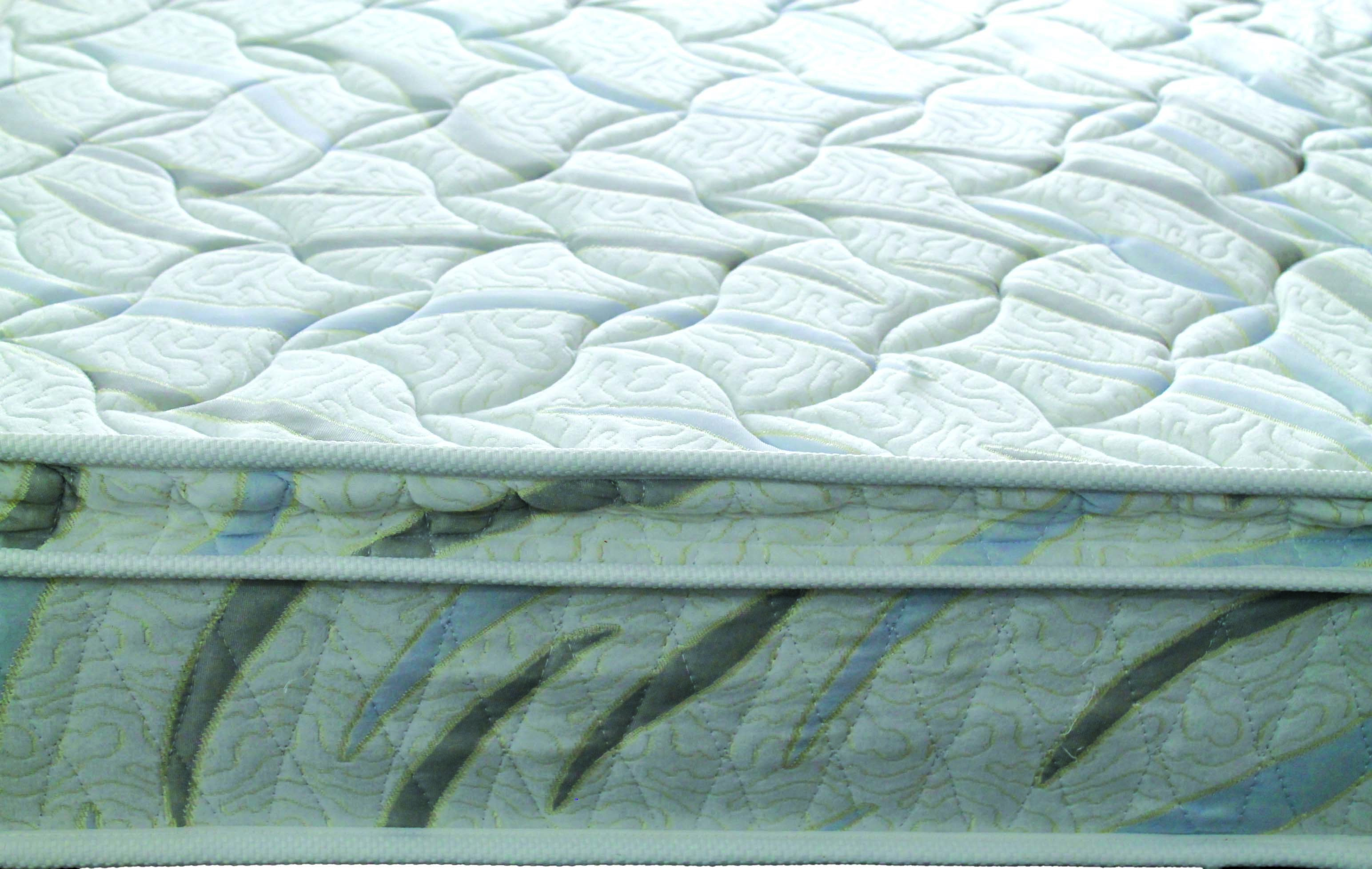 pillow topper top bonnel extra spring mattress